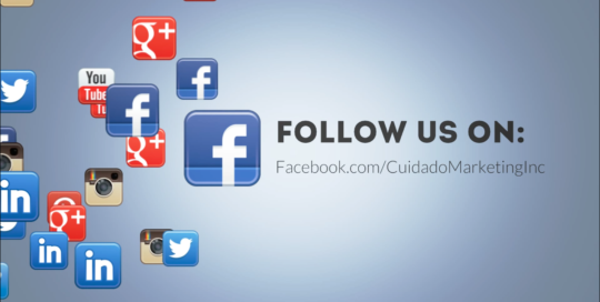 Cuidado Marketing Facebook Follow Us