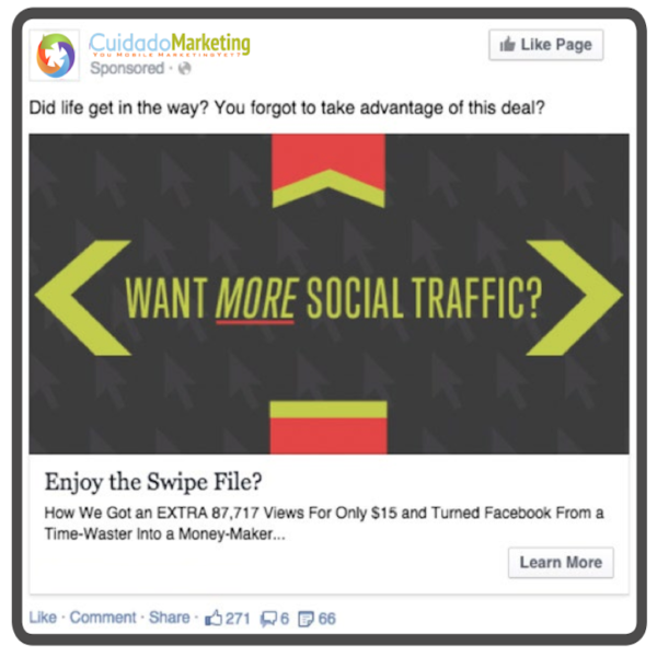 Cuidado Marketing Sudbury Facebook Marketing More Traffic