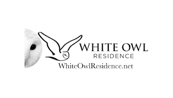 Cuidado Marketing White Owl Residence Logo